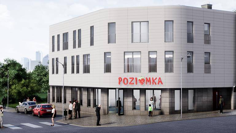 Projekt budynku mieszkalno-usługowego w Bytomiu
