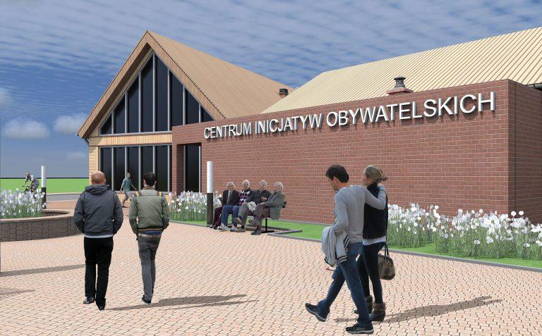 Projekt Centrum Inicjatyw Obywatelskich w Połańcu
