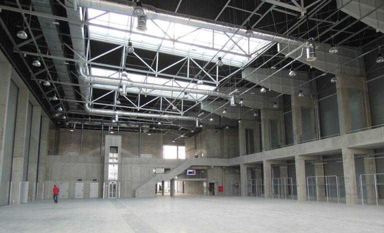 Centrum Wystawienniczo-Kongresowe w Opolu - wnętrze