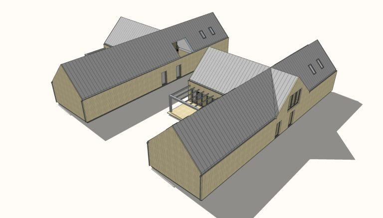 Projekt domu w Niegowonicach
