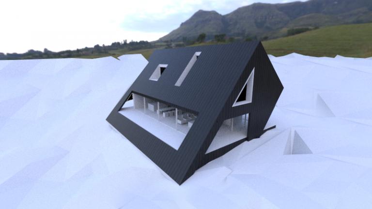 Projekt górskiego domu w Ustroniu