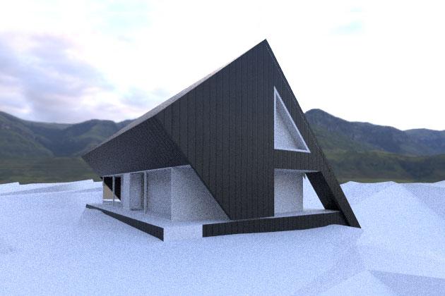 Górski dom w Ustroniu