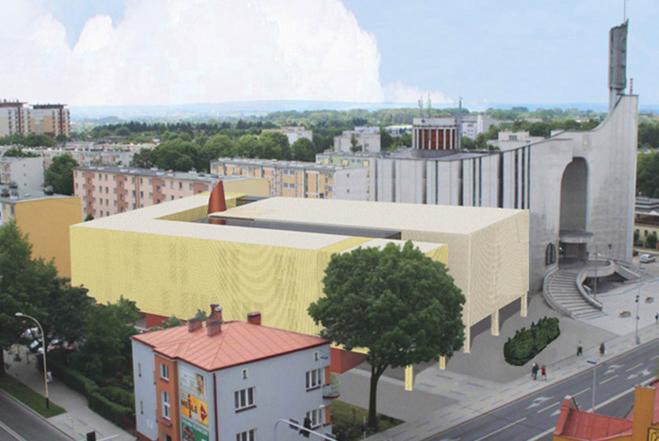 Projekt domu zakonnego - Rzeszów
