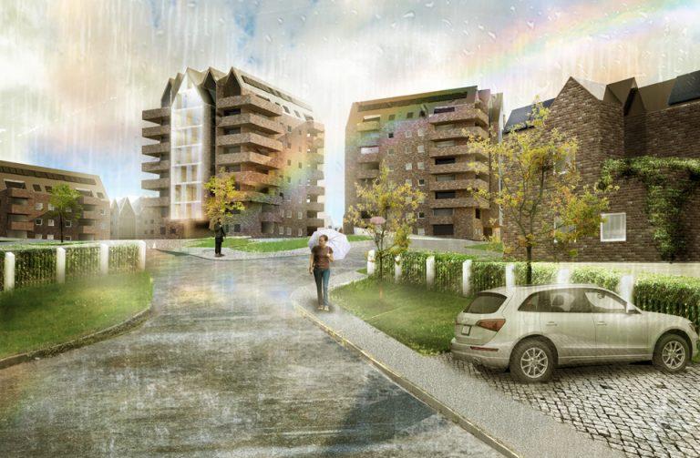 Koncepcja osiedla mieszkaniowego Politechnika Gdańska