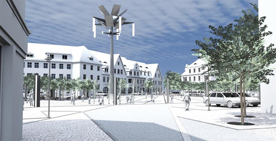 Koncepcja zagospodarowania placu Piłsudskiego we Wrocławiu
