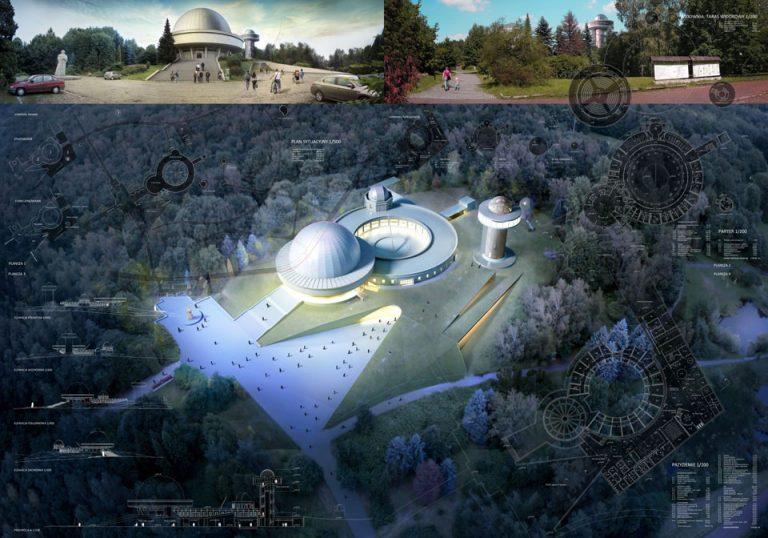 Projekt Planetarium Śląskiego w Chorzowie