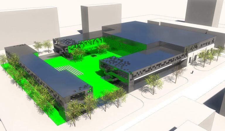 Projekt architektoniczno-urbanistyczny siedziby Teatru Nowego w Warszawie