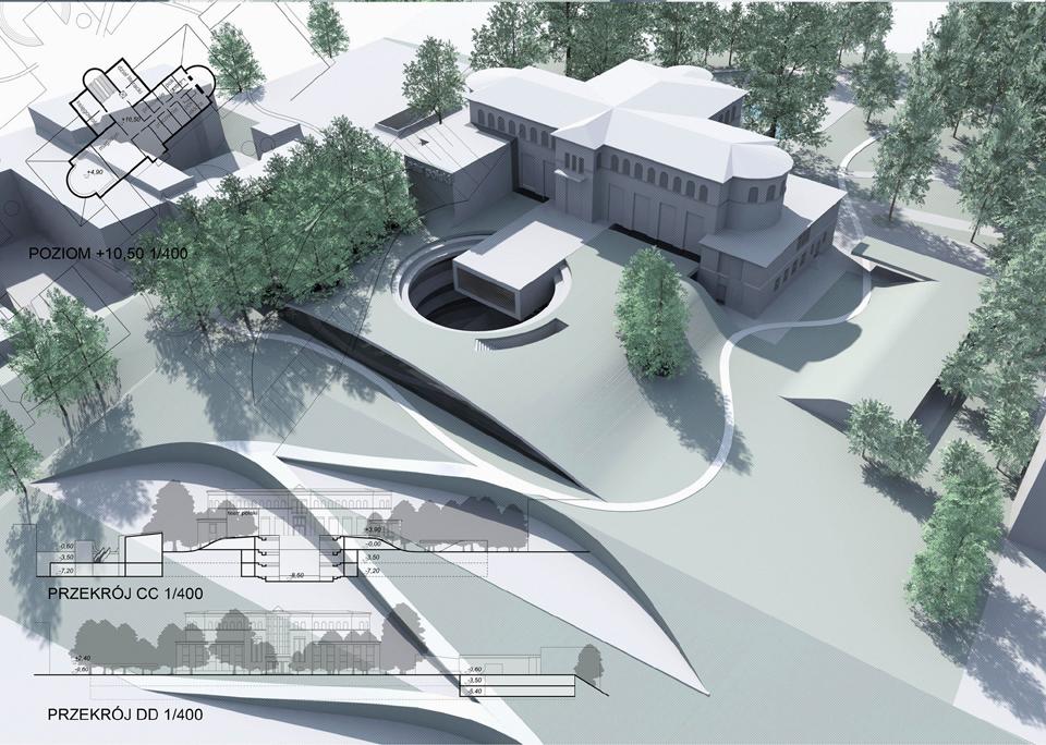 Projekt rozbudowy Teatru Polskiego w Szczecinie