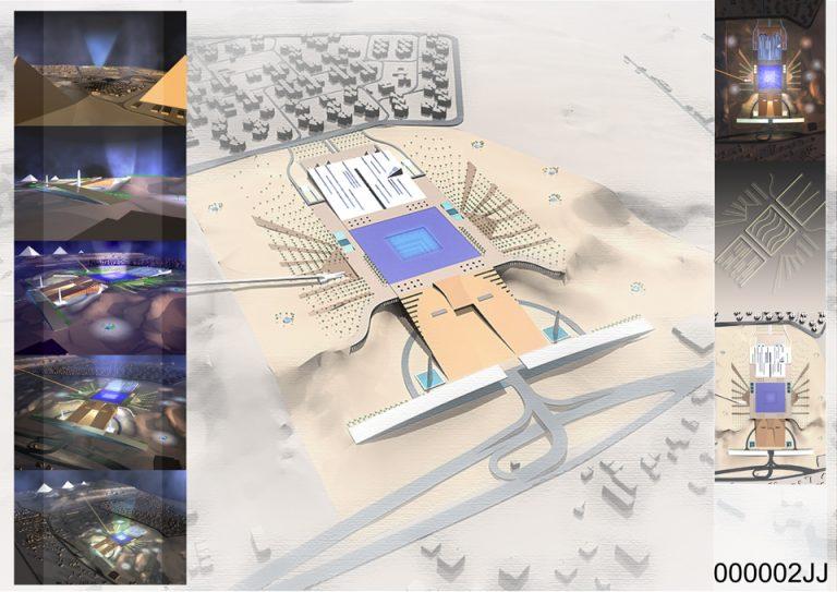 Projekt Wielkiego Muzeum Egipskiego w Kairze